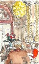 V&A cafe, Gamble Room.