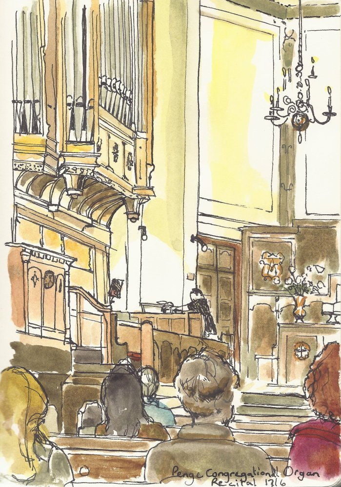Organ Recital, Congregational Church Penge