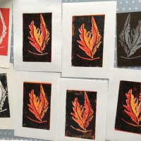 Linocut Print Workshop