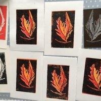 Linocut Print Workshop