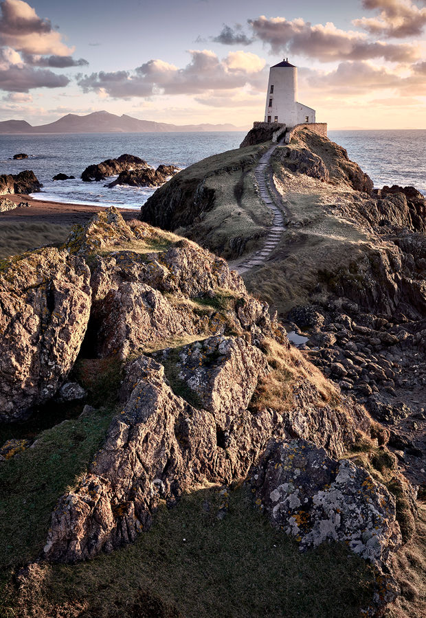 Llanddwyn Island Lighthouse Sunset