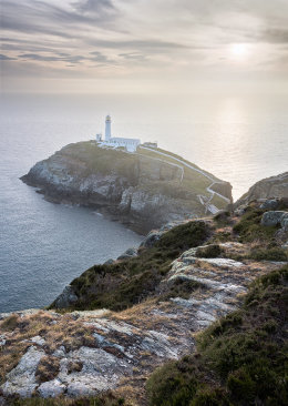 South Stack Lighthouse Sunset