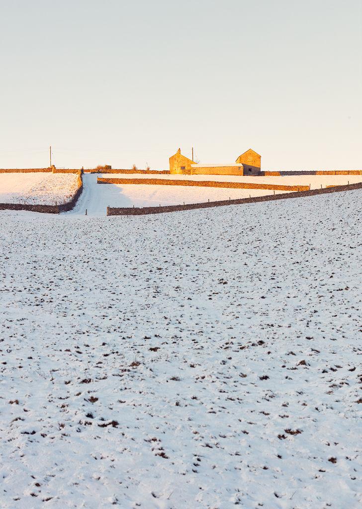 Winter Sunrise Peak District
