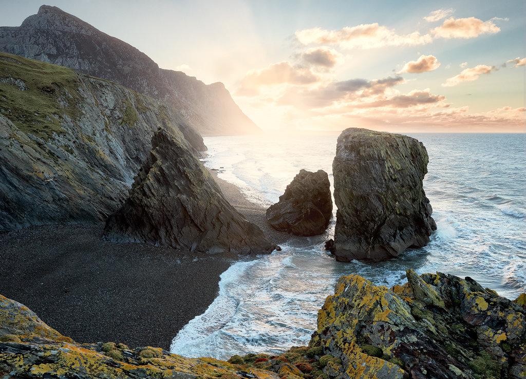 Ynys Fawr Sea Stacks