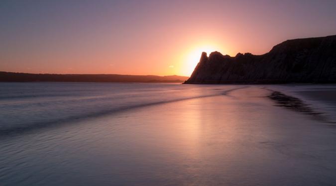 2 Cliff Sunset