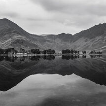 Black and White reflections of Buttermere