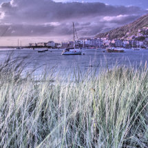 HDR Picture of Barmouth Harbour (from Fairbourne)