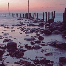 Sundown over Lynmouth
