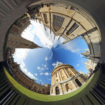 Radcliffe Camera From the Outside In