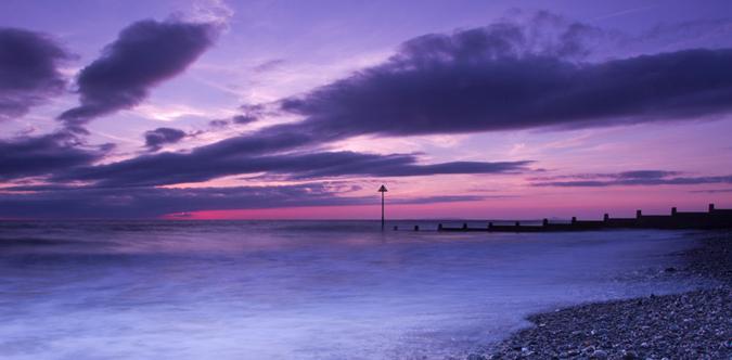 Sunset Shore line