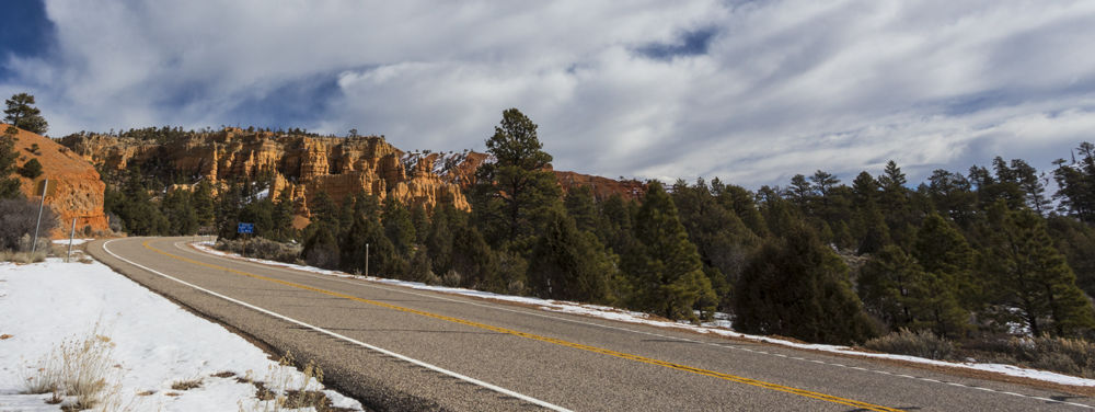 The Bend before the Canyon