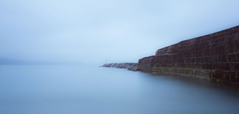 The dawn mist