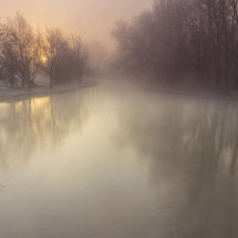 The Ethereal Mist of Dawn