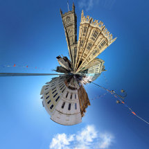 Cirencester Polar Panorama