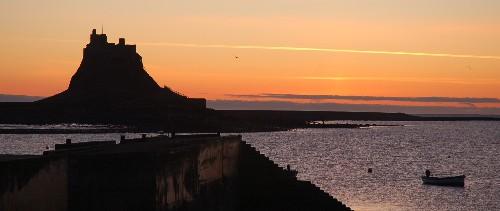 L1035 Lindisfarne Castle Just Before Sunrise