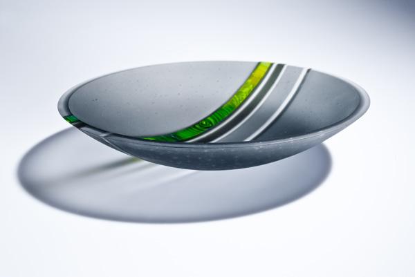 Grey strip cut vessel