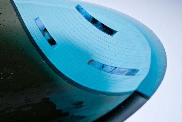 Jetty Series Three Aqua Blue/Grey Close Up