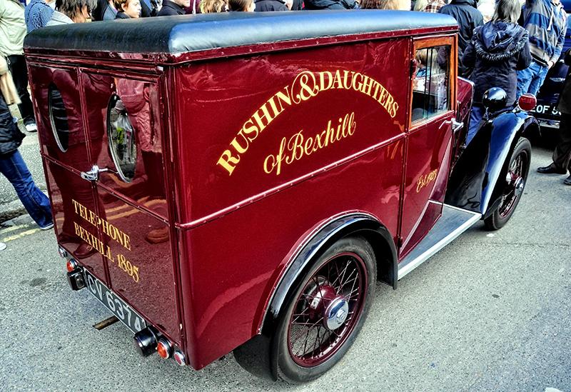 Austin 7 Van, circa 1930
