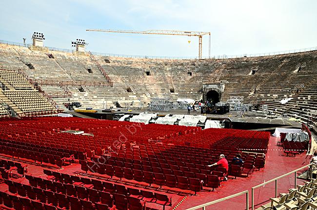 Inside Verona Arena