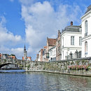 Canal and Bridge, Bruges