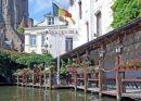 A Flowery Corner of Bruges