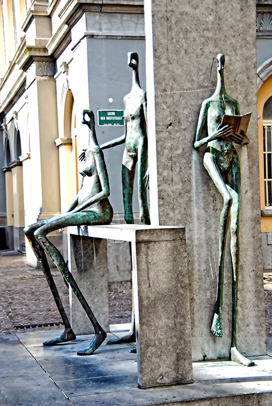 Sculpture in Bruges