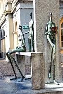 Sculpture in Bruges