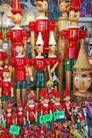 A Pinocchio Shop in Collodi
