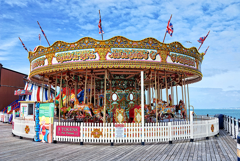 Carousel on Brighton Pier