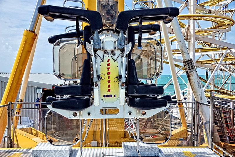 'Booster' Funfair Ride