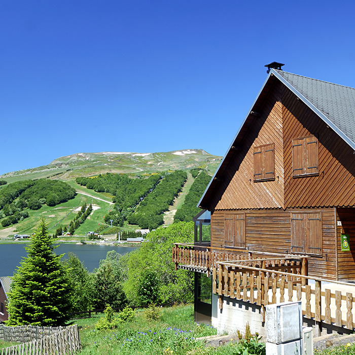 Chalet, Lake and Volcano in Super-Besse, Auvergne