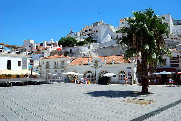 A Plaza in Albufeira