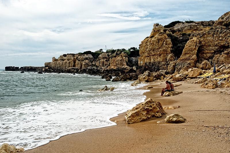 Sandy Beach in Albufeira