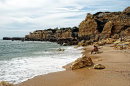 Sandy Beach in Albufeira