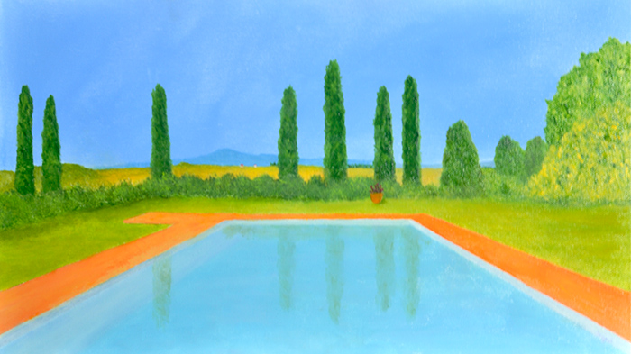 'Tuscan Pool'.
