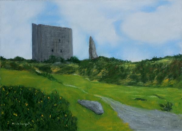 Castle Ruins in Snowdonia