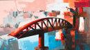St. Elmo breakwater bridge - SOLD