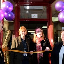 Kirsty Williams MS opening Charity shop