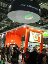 Wales  stand at IFE, London 2013