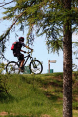 Mountain Biking, at Nant Yr Arian, Wales,UK