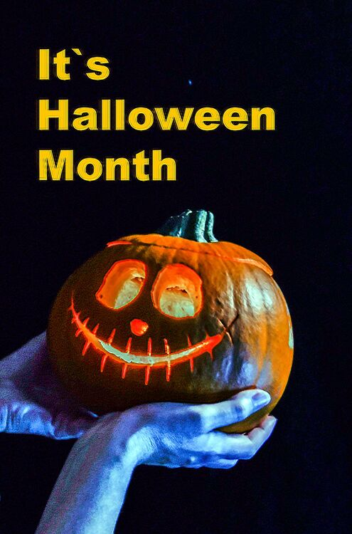 It`s Halloween Month