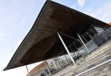 Welsh Assembly Building, Cardiff.
