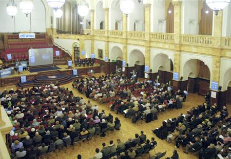 Citzens Meeting. Birmingham University.UK