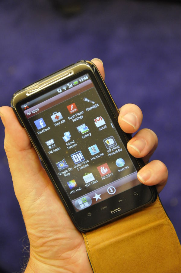 Mobile phone with applications