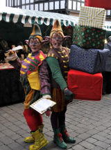 Street Performers,Worcester Victorian Market