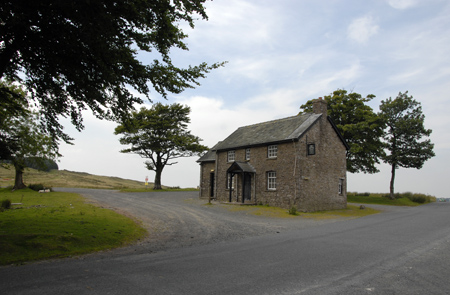 Old Drovers Arms, on Epynt Hills, Wales,UK
