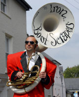 Brecon Jazz Festival 2012,Street Entertainment
