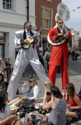 Brecon Jazz Festival,Street Entertainment