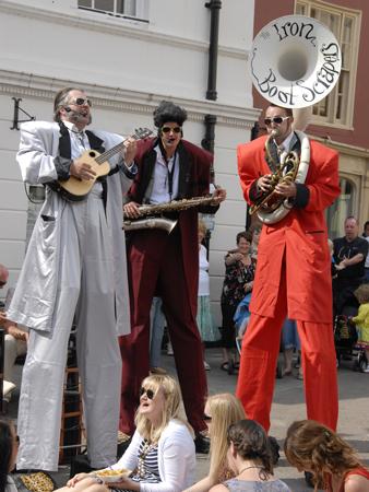 Brecon Jazz Festival 2012,Street Entertainment