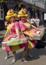 Lollipop Usherettes, Brecon Jazz Festival
